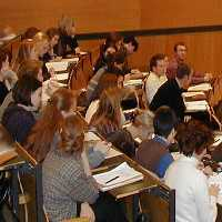 Students at Hannover Medical School